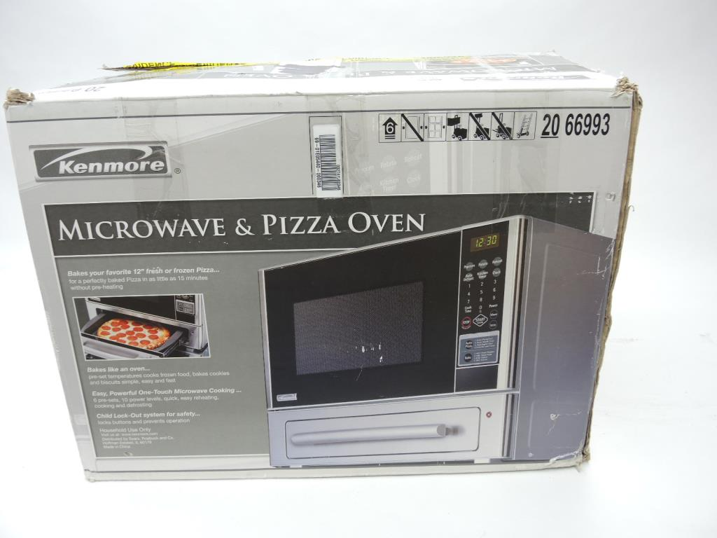 Kenmore Microwave With Pizza Ovenbestmicrowave