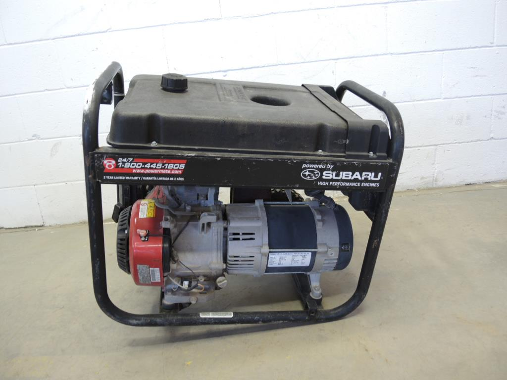 black max generator sold for parts property room rh propertyroom com black  max 6560 generator parts