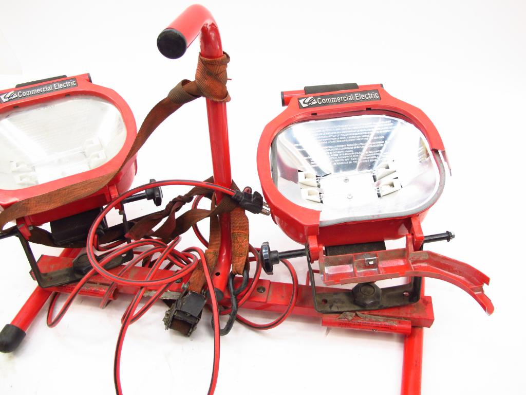 Commercial electric portable work lights property room commercial electric portable work lights aloadofball Images