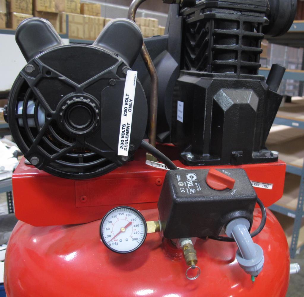 Husky pro 7 hp air compressor