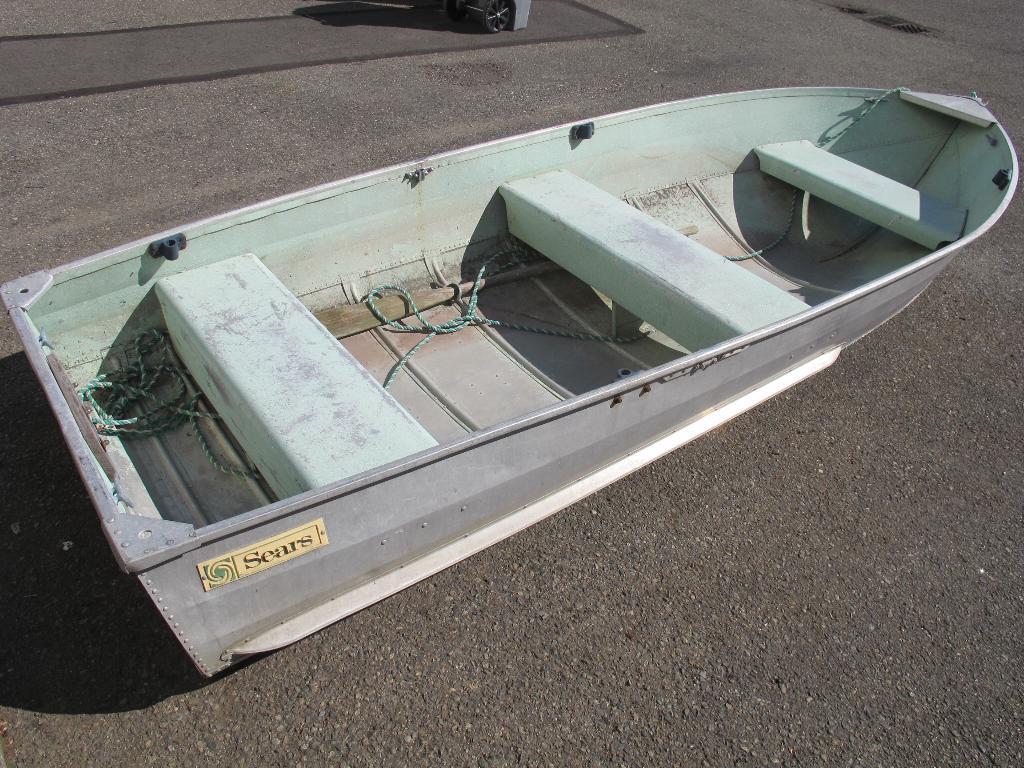 Seattle Car Auction >> 12' Sears Aluminum Boat **SEATTLE AREA** | Property Room