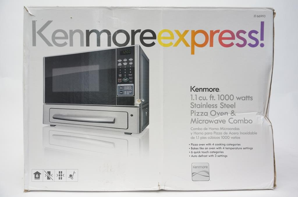 Kenmore Express Microwave And Pizza Oven Combo Sold For