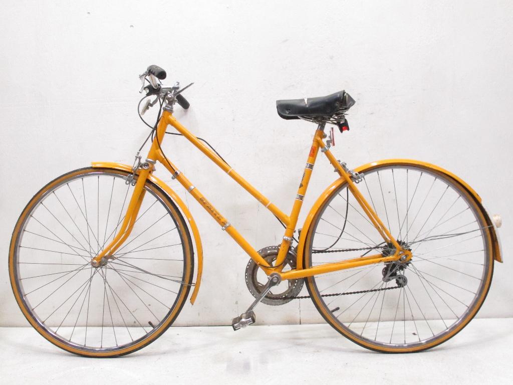 vintage raleigh sprite 27 women 39 s hybrid cruiser bike. Black Bedroom Furniture Sets. Home Design Ideas
