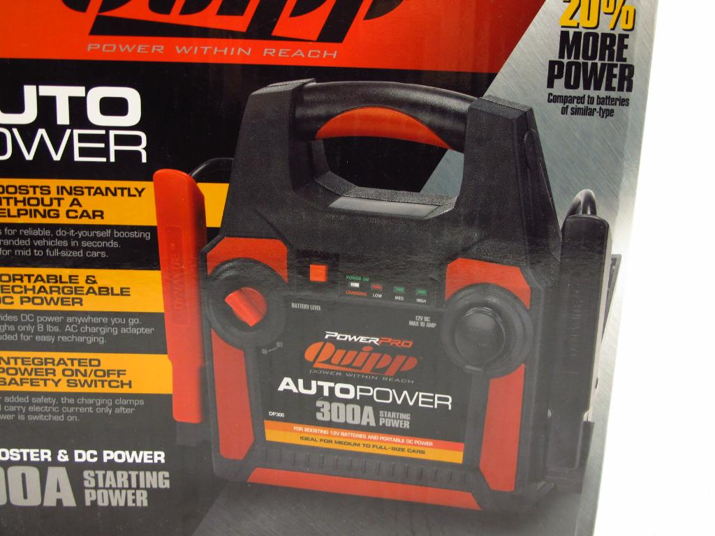 Power Pro Quipp Car Battery Charger Property Room
