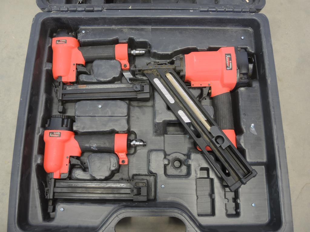 Campbell Hausfeld Iron Force Nail Guns 4 Pieces