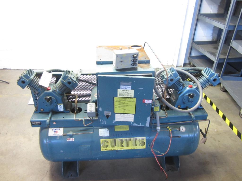 Curtis Climate Control Systems Industrial Air Compressor