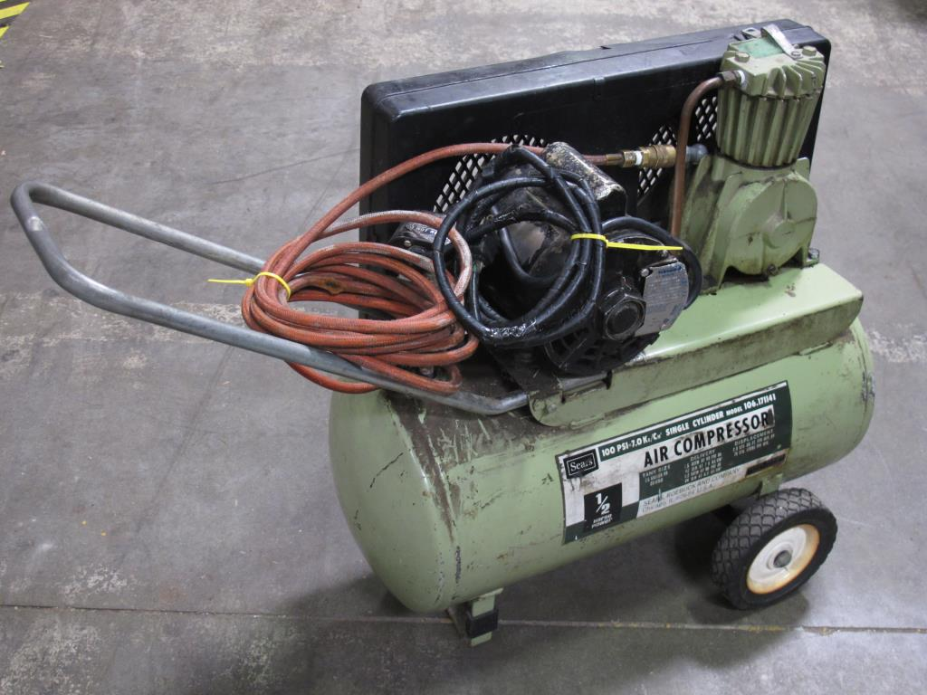 Sears 1 2hp Air Compressor Model No 106 171141