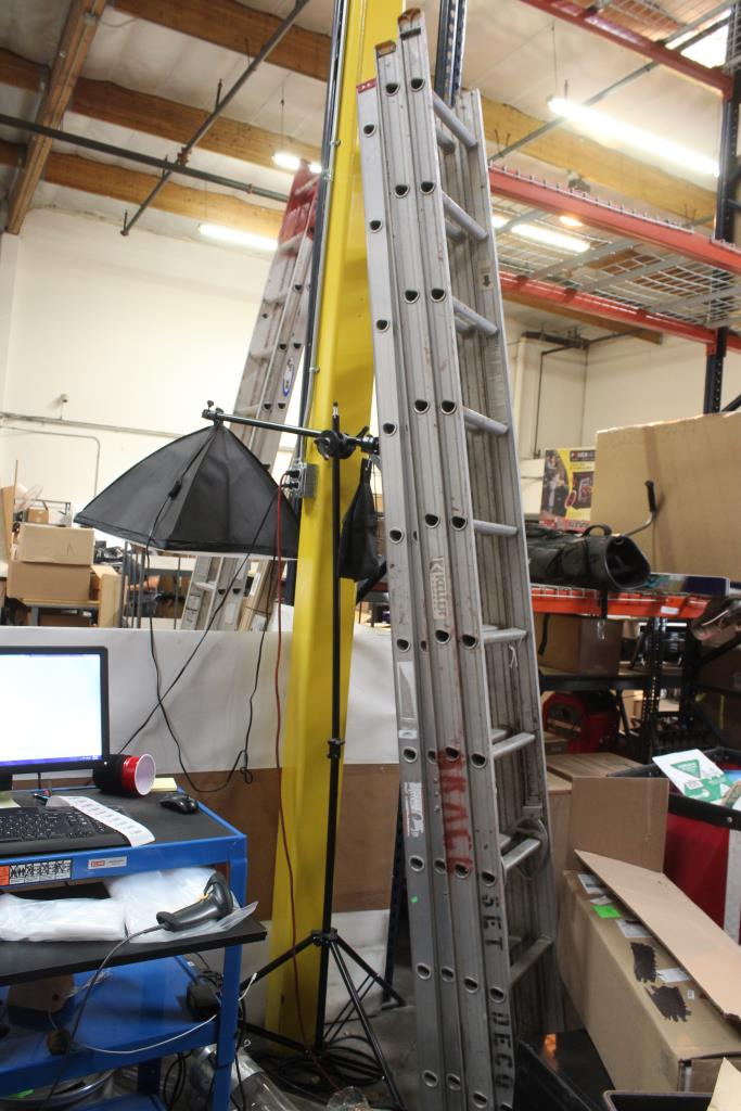 20 Foot Keller And Lousville Extension Ladders 2 Pieces