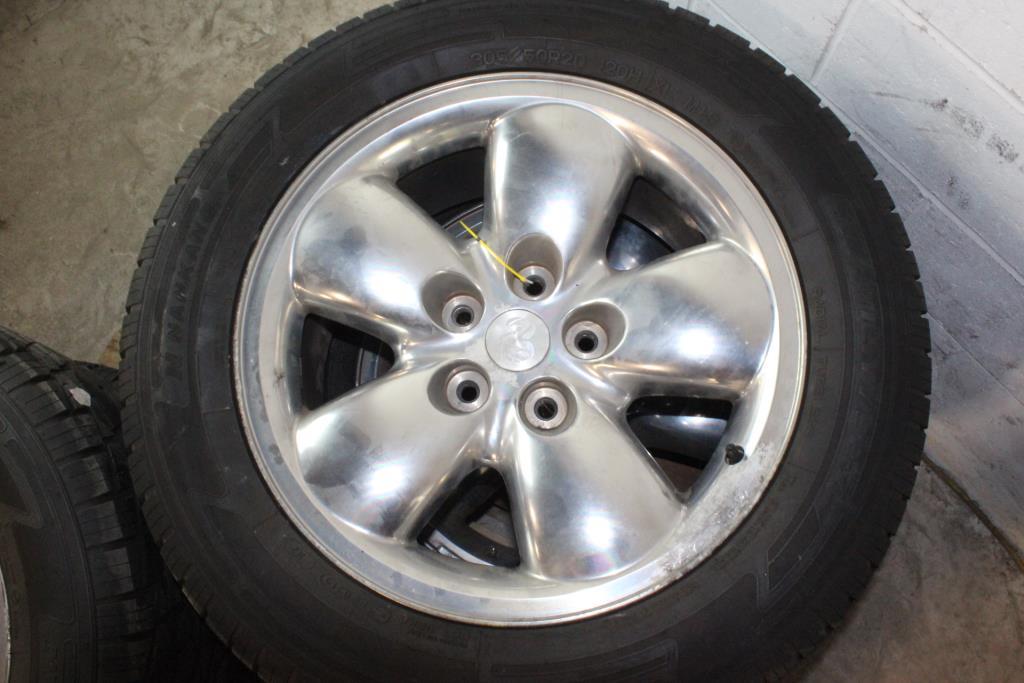 Dodge Ram 1500 Tires >> 2002-2005 Dodge Ram 1500 Rims/Tires, 4 Pieces | Property Room