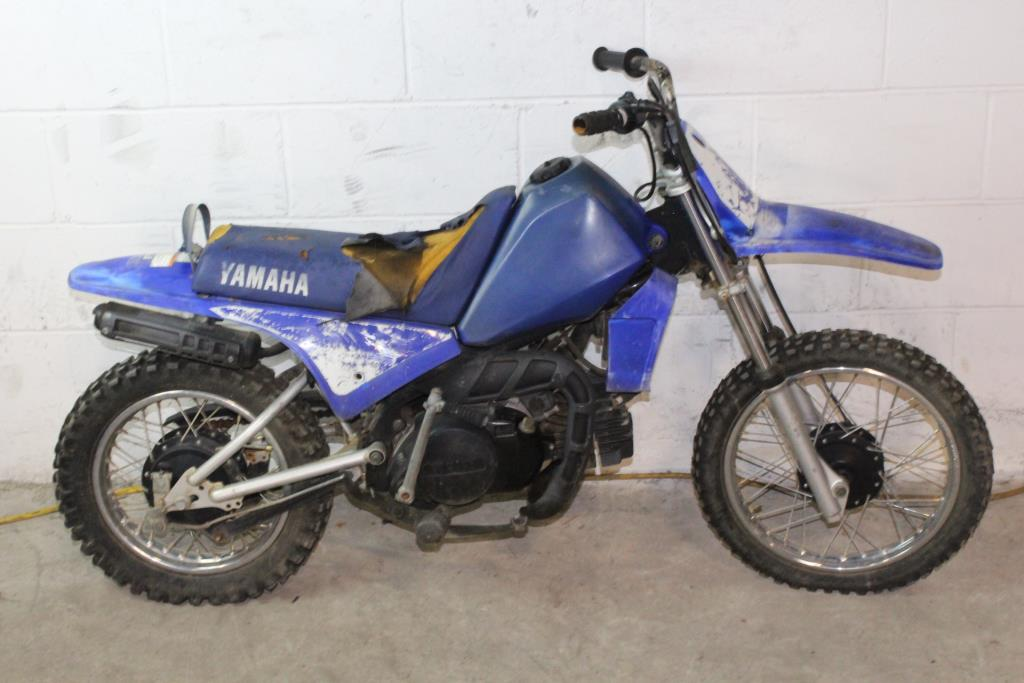 2004 Yamaha Pw80 Dirtbike