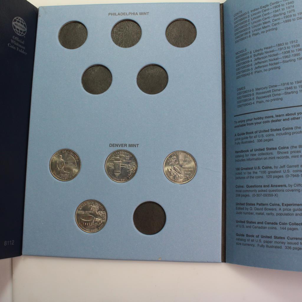 2006-2008 Statehood Quarter Collection Booklet | Property Room