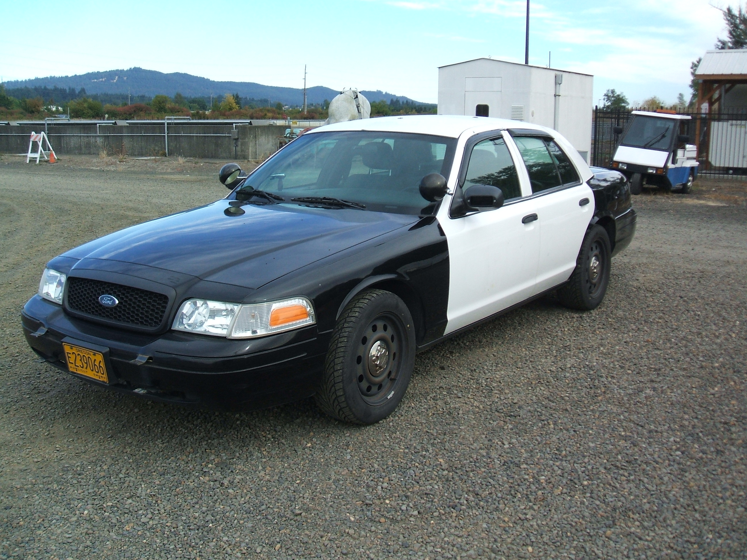 2007 Ford Crown Victoria Police Interceptor Corvallis Or