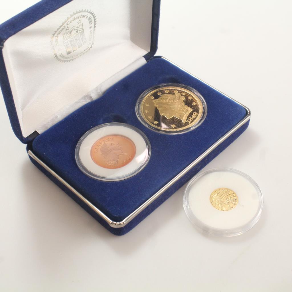 3 Replica Coins | Property Room