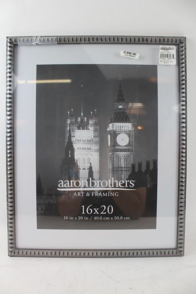 Aaron Brothers Art Framin 16x20 Picture Frame Property Room