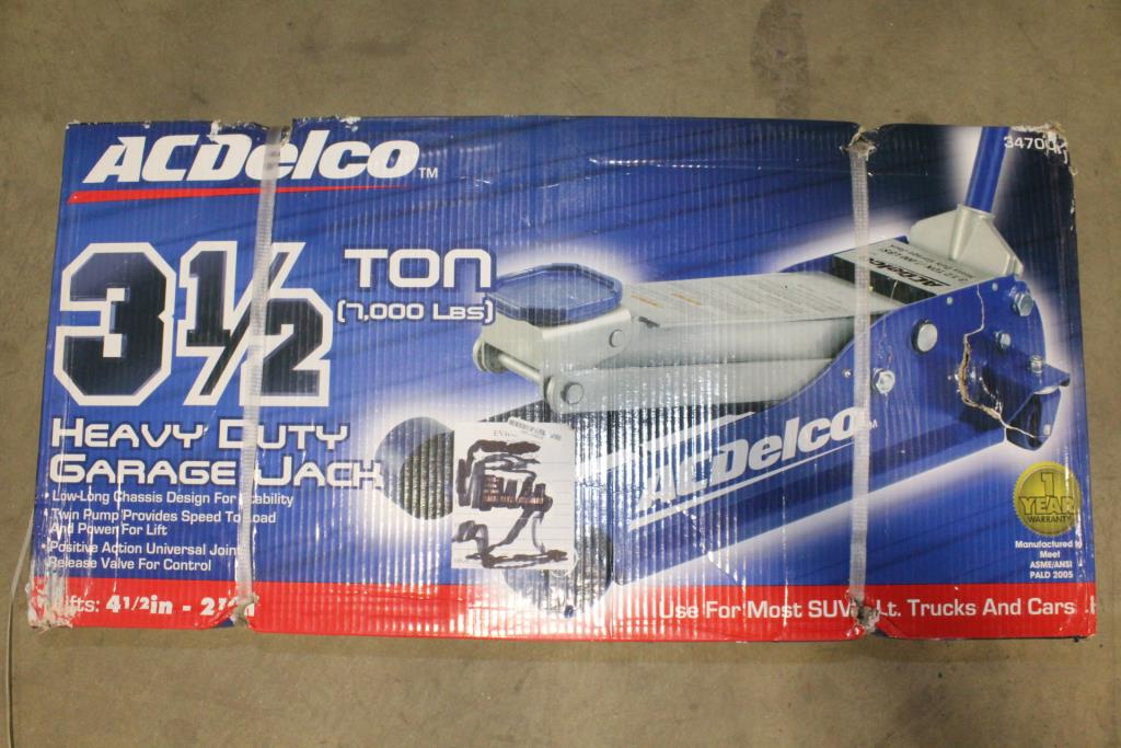 Ac Delco 3 5 Ton Garage Jack Property Room