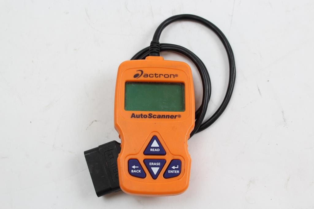 Actron Cp9575 Auto Scanner   Property Room