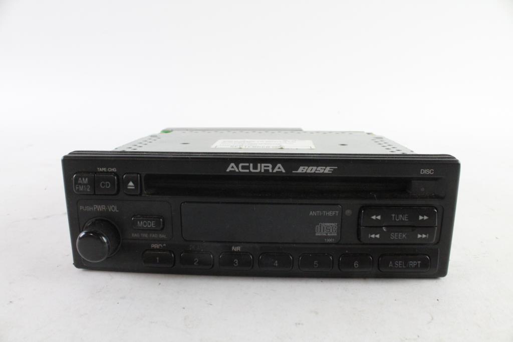 Bose Car Stereo >> Acura Bose Car Stereo Property Room