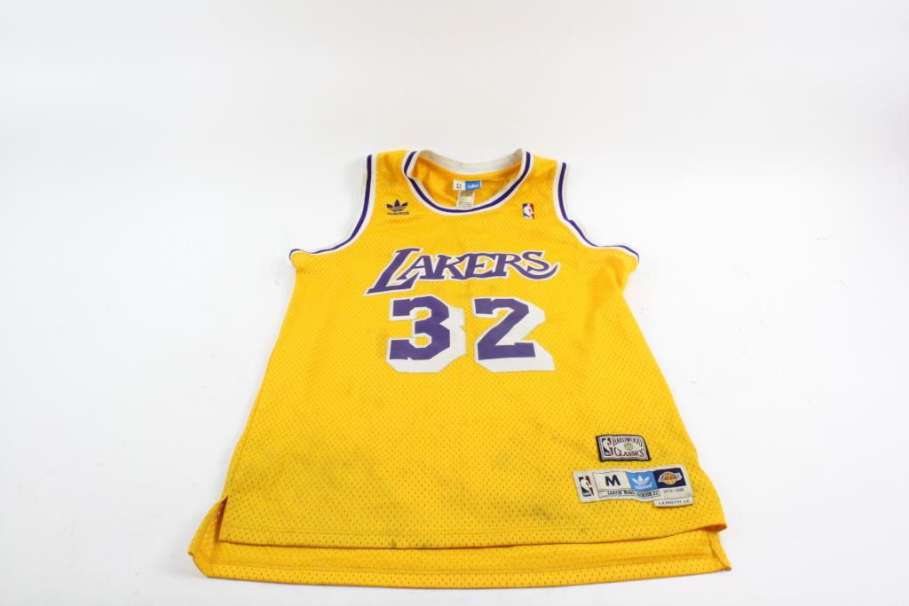 buy online 84020 9fc21 Adidas Hardwood Classic Los Angeles Lakers Jersey, Medium ...