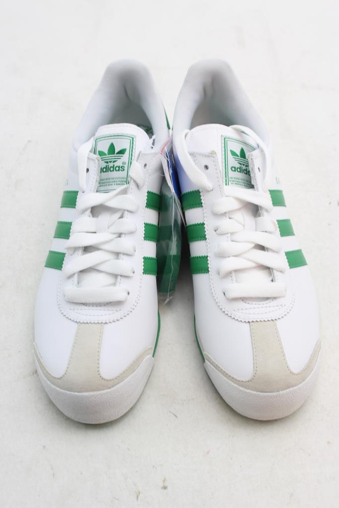 best loved e443b d0f35 Adidas Samoa Shoes White, Green Men s Size 9