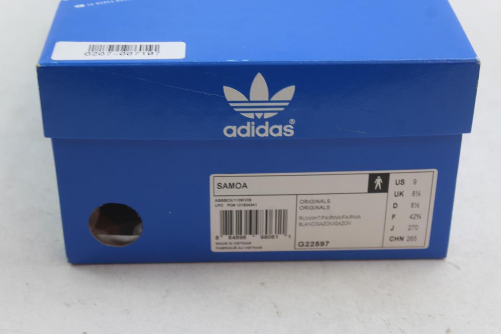 super popular c57fe ef07b adidas-samoa-shoes-white-green-mens-size-9-1 201020162015351415975.jpg