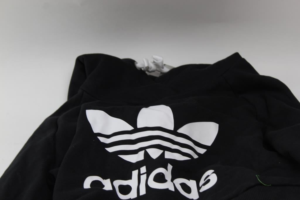 Adidas Womens Crop Top Sweater Size Xs Property Room