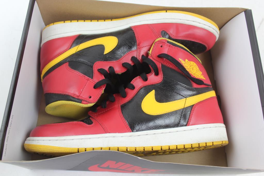 quality design 06842 0842d Air Jordan 1 Retro High Og Shoes, Size 12   Property Room