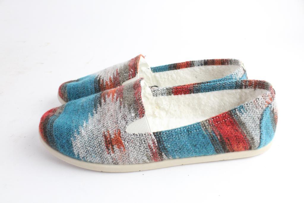 50f1b24ac92 Airwalk Womens Cozy Dream Navajo Slip-On Shoes