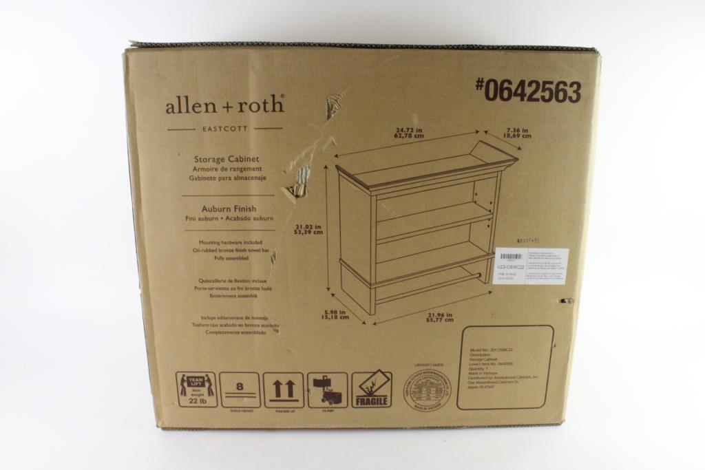 Allen Roth Storage Cabinet