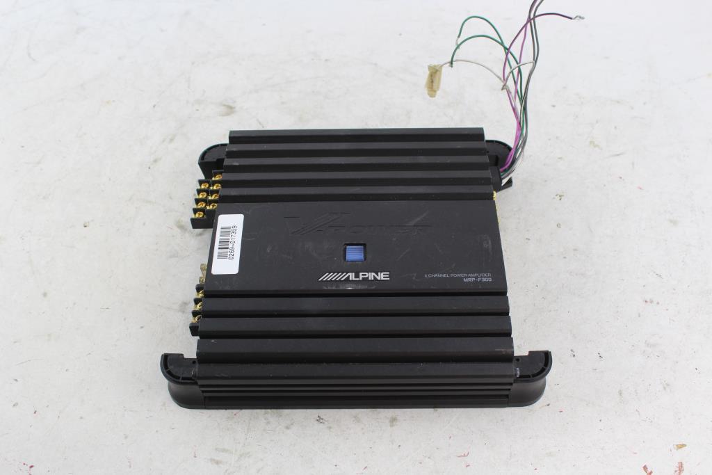 Alpine 4 Channel Amplifier | Property Room