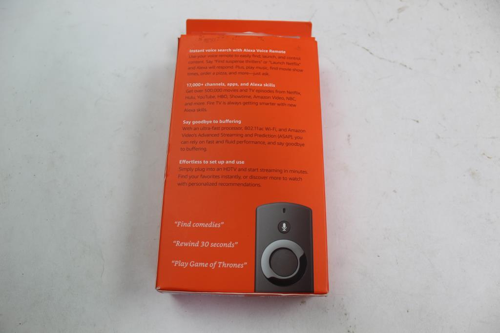 Amazon Fire Tv Stick W/Alexa Voice Remote | Property Room