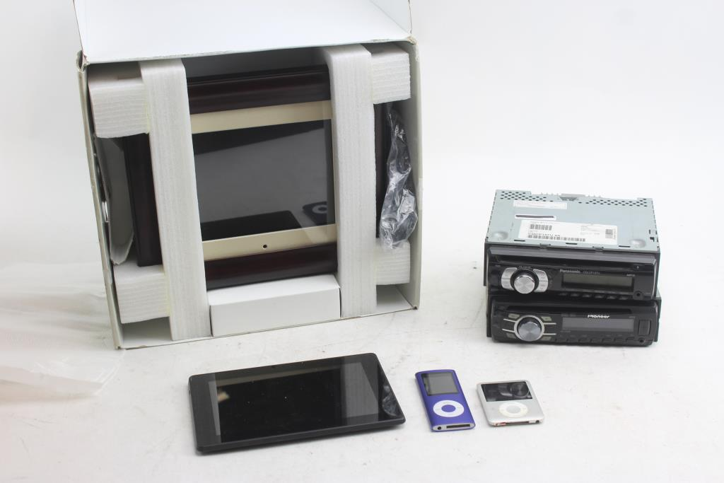 Amazon Kindle, Mp3 Player, Digital Picture Frame And More 6 Pieces ...
