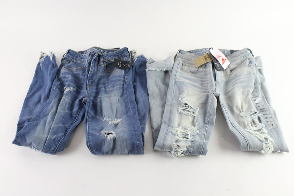 American Eagle Jeans And Jeggings, Size 00, 2 Pieces
