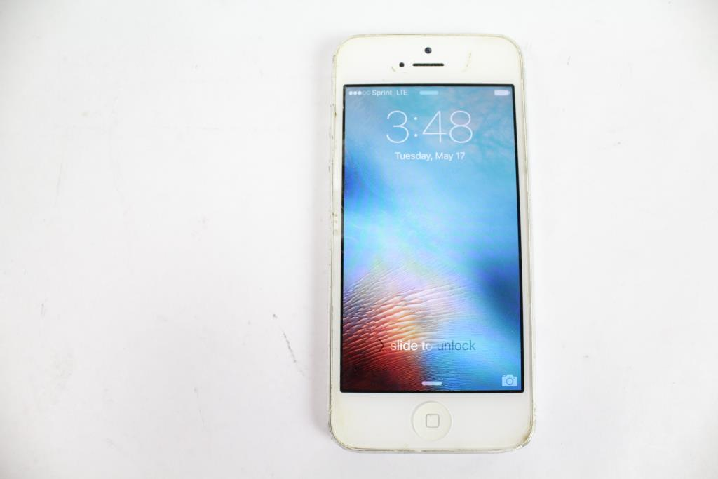 iphone 5 sprint apple iphone 5 16gb sprint property room 11048