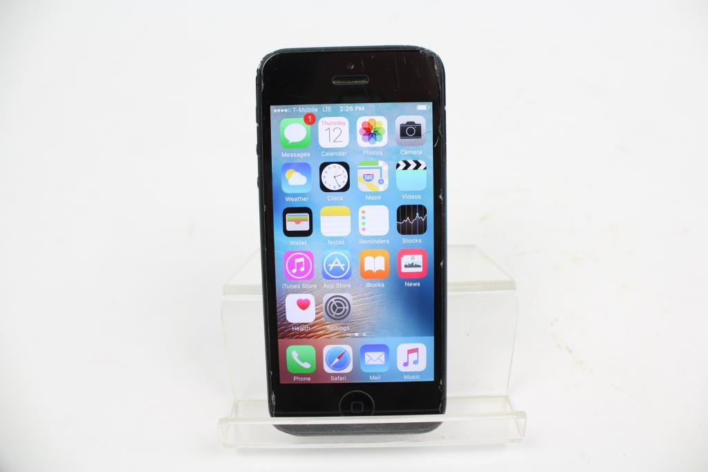 iphone 5 tmobile apple iphone 5 32gb t mobile property room 11051