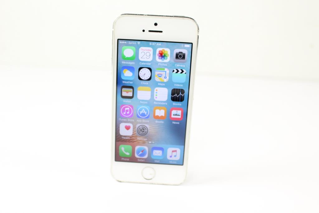 iphone 5s sprint apple iphone 5s 16gb sprint property room 11253