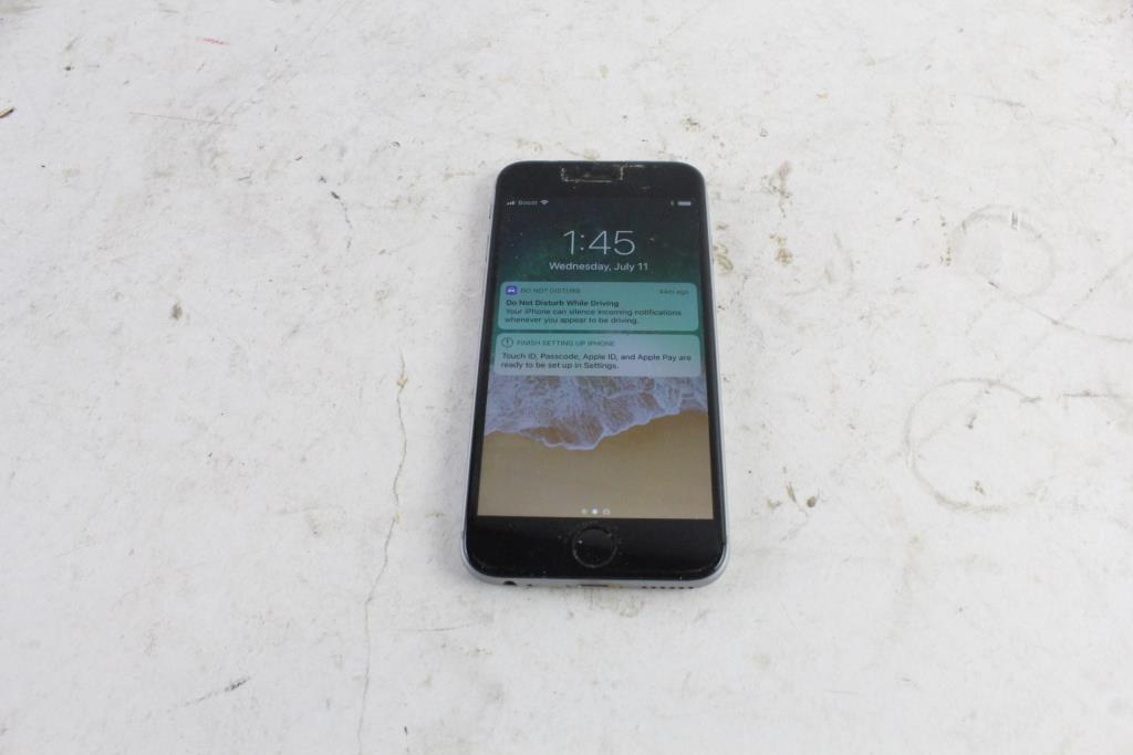 Apple Iphone 6, 16GB, Boost Mobile Service   Property Room