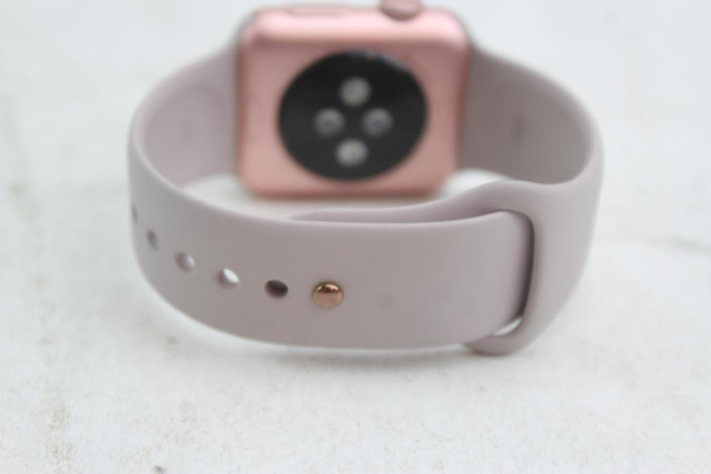 new arrival 39386 14029 Apple Watch 7000 Series 38mm Rose Gold Aluminum, ICloud Locked, Sold ...