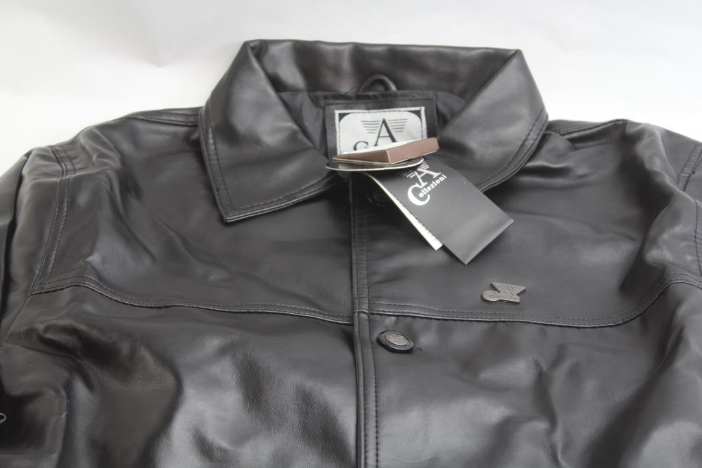 50e50b196 Armani Collezioni Leather Jacket | Property Room