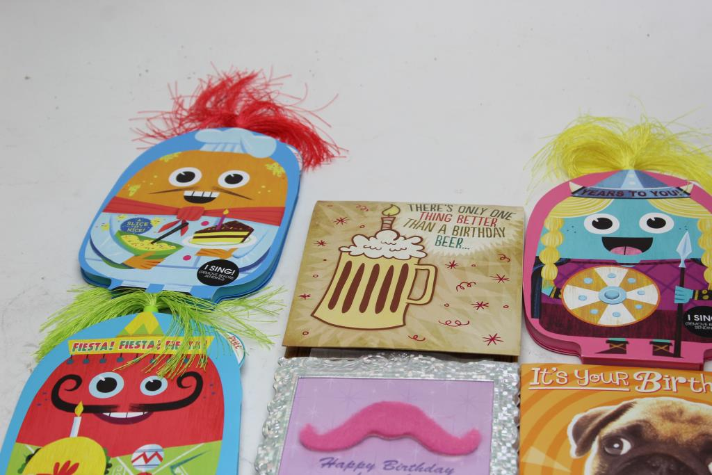 Assorted Birthday Cards Bulk Lot 30 Pieces