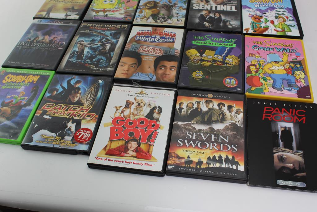 Assorted DVD Movies, 20 Pieces   Property Room