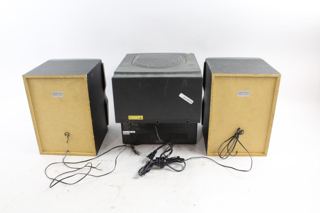 Car Stereo Shop >> Audiovox 5 CD Home Stereo System | Property Room