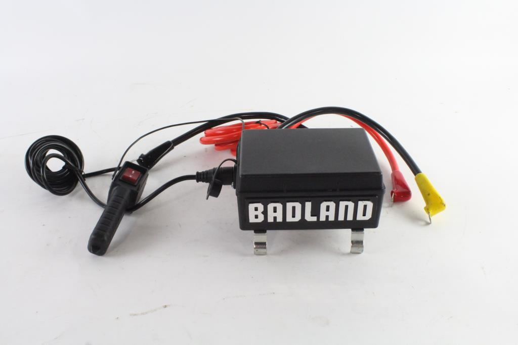 Badland Winch Remote Control Box With Remote | Property Room