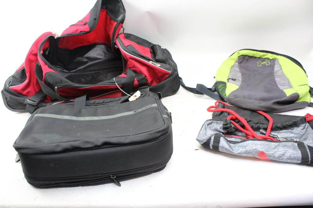 Bags Backpack And More Under Armour Adidas Codi 4 Items
