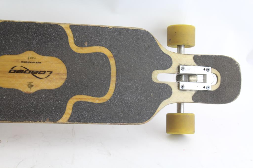Bamboo Loaded Flex1 Tan Tien Longboard | Property Room