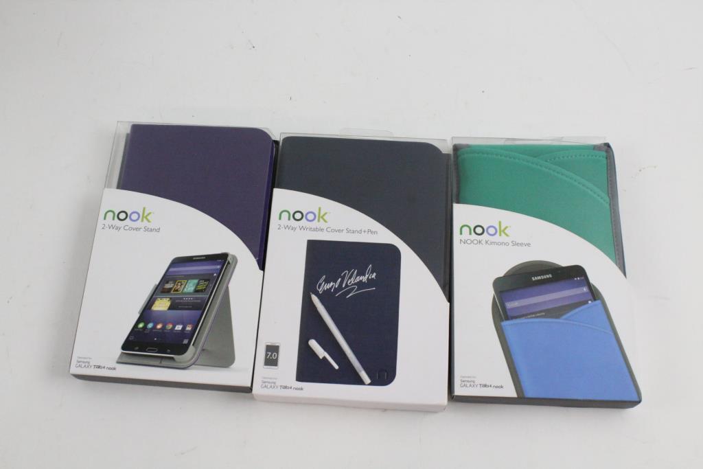 half off ee089 62c6a Barnes & Noble Samsung Galaxy Tab 4 Nook Accessories And More, 6 ...