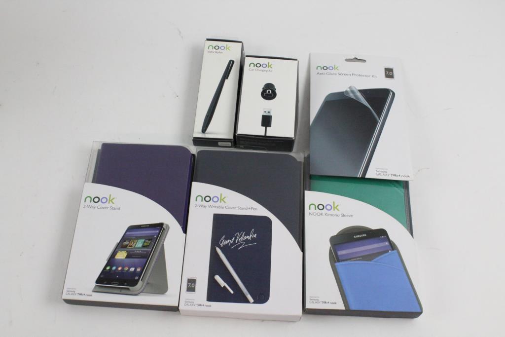 half off ca16d 226d6 Barnes & Noble Samsung Galaxy Tab 4 Nook Accessories And More, 6 ...