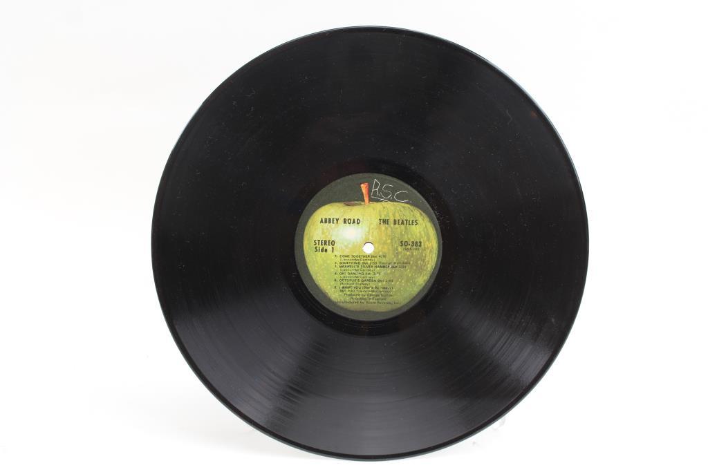 Beatles Abbey Road Vinyl Record Property Room