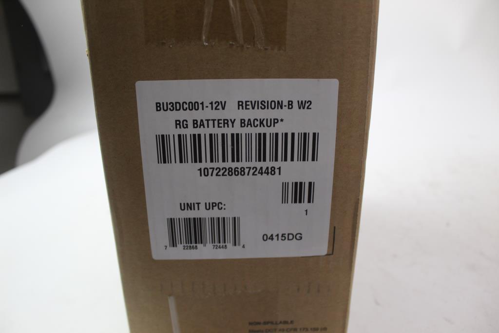 Belkin Residential Gateway Battery Backup | Property Room