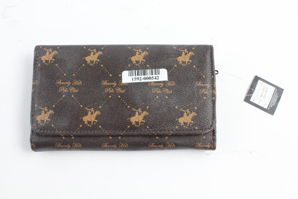Beverly Hills Polo Club Womens Wallet Property Room