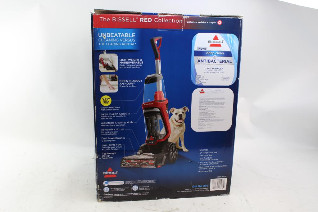 Bissell Proheat 2x Revolution Pet Carpet Upholstery Cleaner